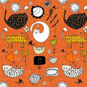Spring Cat Orange