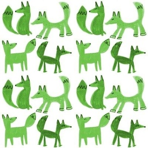 Great Green Foxes