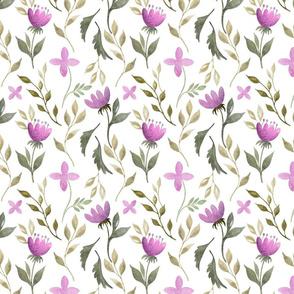 Fantasy floral pattern