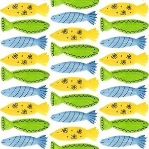 Watercolor Fish Cool