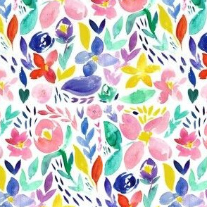 bright days ahead boho floral  - small