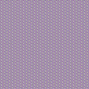 Micro soccer balls on purple