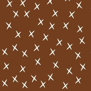 crosses - hazel brown