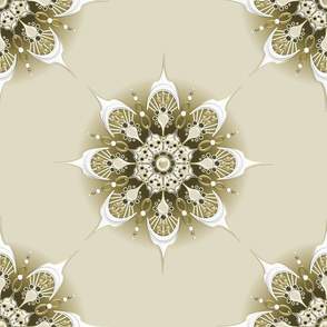 Mandala - Neutral Beige