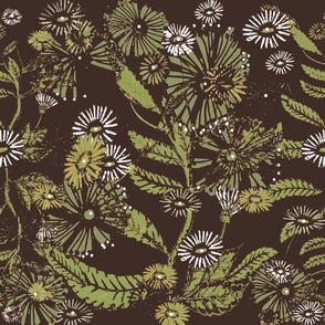 Vintage Daisy Dance - Oak - Large
