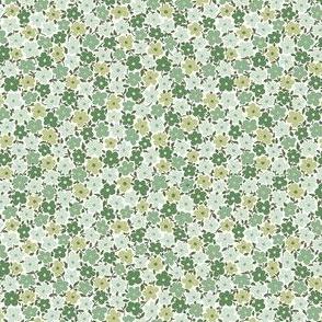 Mini Floral / green