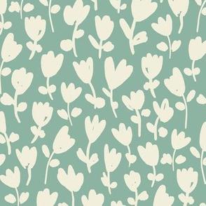 Tulips / jade