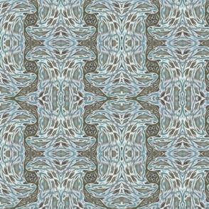Rococo  Stretch Floral Stripe