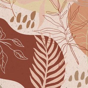 Pink Terracota Desert Pattern