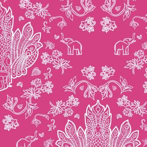Mayura Raksha Tropical Pink