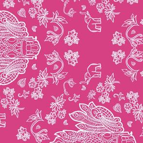 Mayura Raksha Tropical Pink (rotated 90)