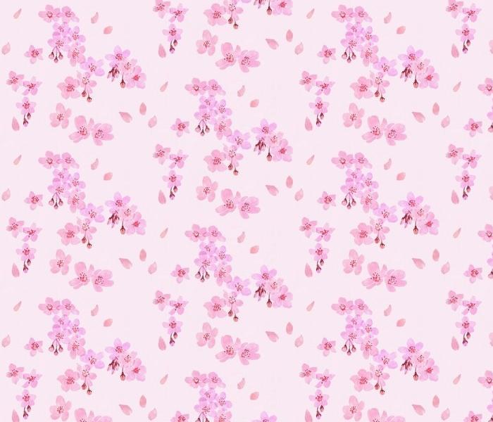 Sakura brings us the spring <blooming pink>