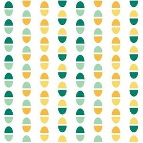 Geometric Ice Cream Scoops Bright (Crema)