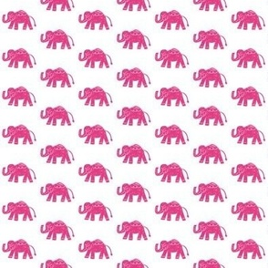 Pretty in Pink Elephants (Larger)