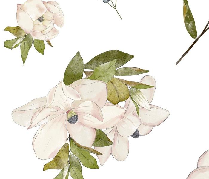 Magnolias and Berries