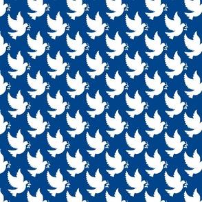 bunny wonderland damask light yellow on green medium