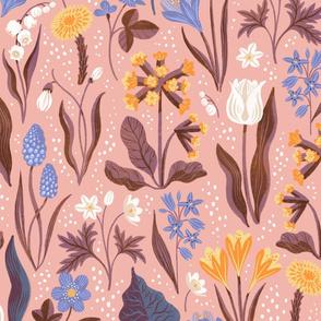 Scandinavian spring flora powder