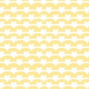 white stripes on yellow small