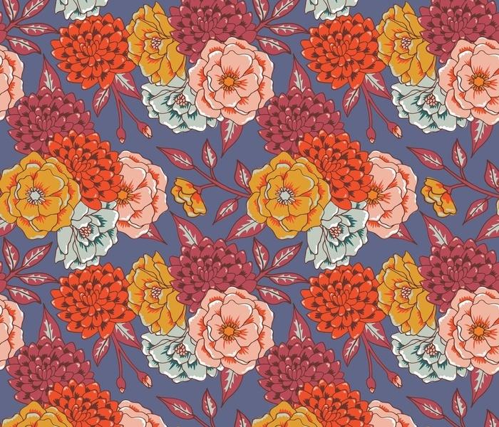 anemones and chrysanthemums