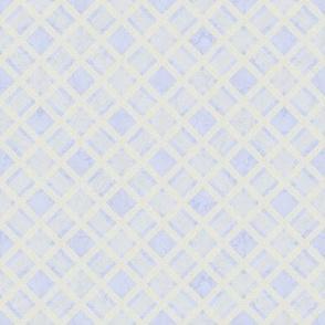 White Lattice on Pale Blue Marble 2
