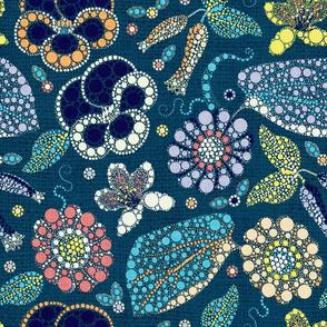 Pointillist Garden (Palette 3)