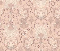Modern Rococo - Soft Peach