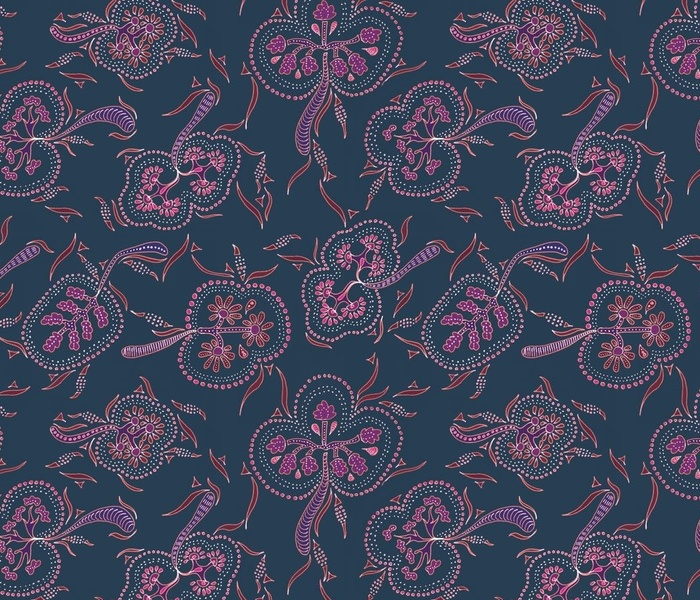 Indian floral chintz