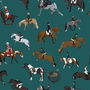 Horse Sports Pattern
