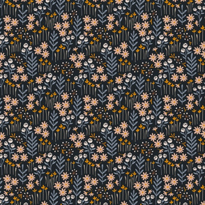 Lewis Floral (blue) (small scale)