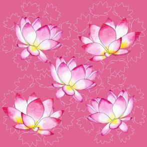 Lotus fabric-01