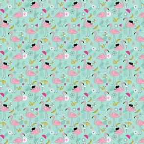 Flamingos_pattern_mint
