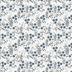 Lewis Floral (navy) (small scale)