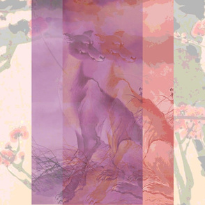 Ghost Wolves - Plum Blossoms