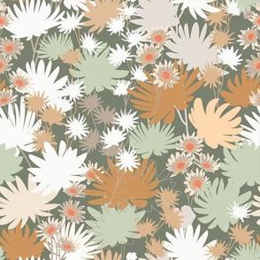 Wildflowers - Sage and Umber