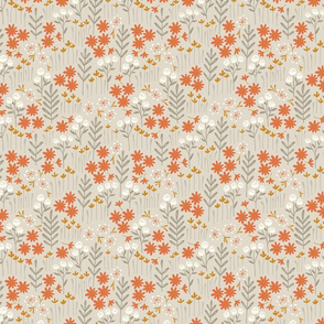 Lewis Floral (beige) (small scale)