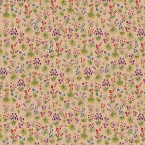 Sm Medieval Meadow- Cream