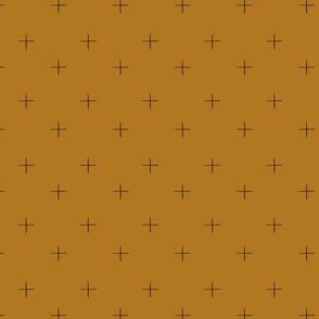 Cross check (mustard)