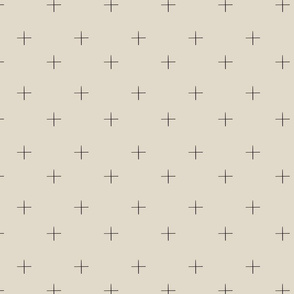Cross check (beige)