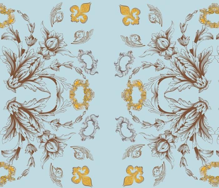 Rococo Flourish