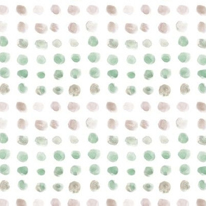 Natural watercolor spots - brush stroke painted stains for modern home decor nursery bedding a134-10