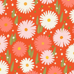 Daisy M+M Watermelon Multi Pink Medium-Large by Friztin