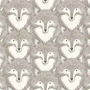 Foxes Grey