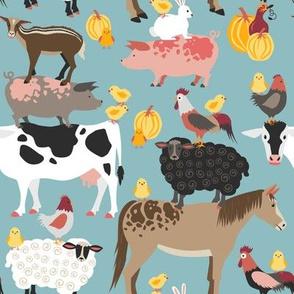 farm animals natural