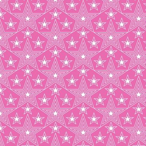 Shining Star* (Pink Diana) || stars geometric superstar disco 70s 80s pop art