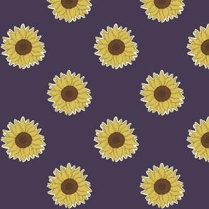 Sunflowers - Lavender