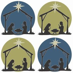 Nativity Polka Dot