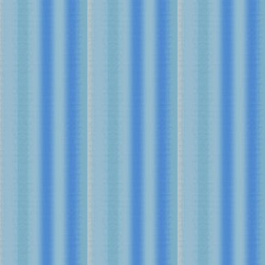 Blue and Aqua Soft Stripe © Gingezel™ 2012