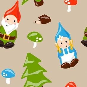 Gnomes and Mushrooms
