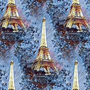 Paris in the Blue Hour