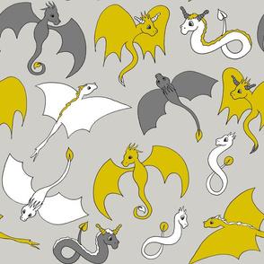 Dragon Friends - Yellow
